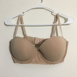 Aerie 36D Nude Convertible Strapless Bandeau Bra